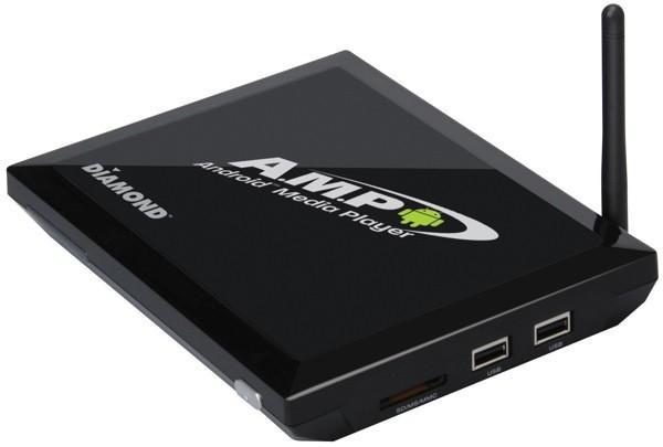 Diamond Multimedia'dan 1080p destekli Android'li medya oynatıcı : AMP1000