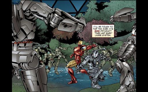 The Avengers-Iron Man Mark VII ile Iron Man hikayesi interaktif olarak cebinize geliyor