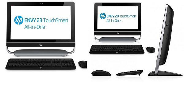 HP'den 3 yeni hepsi-bir-arada PC daha