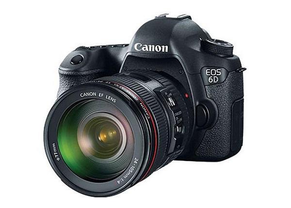 Canon, WiFi ve GPS entegreli EOS 6D tam kare DSLR kamerasını duyurdu