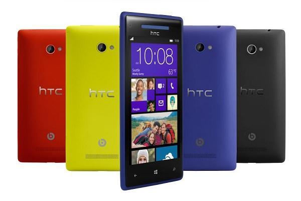 HTC 8X ve HTC 8S modellerinin Avrupa fiyatı ortaya çıktı