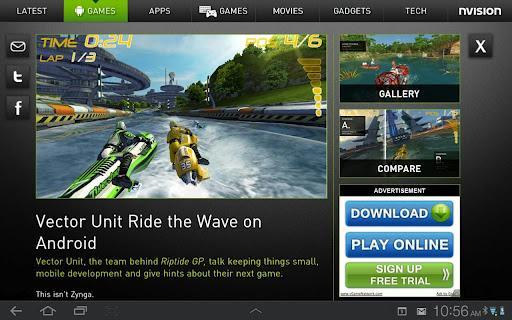 NVIDIA'dan Android haberlerini takip edebileceğiniz NVision News uygulaması