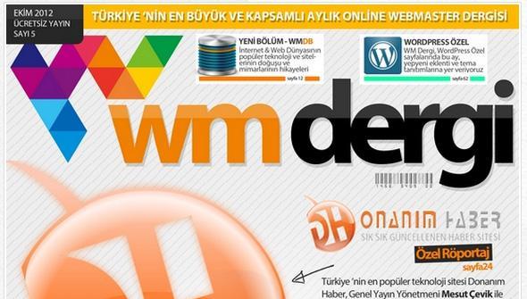 WM Dergi bu ayki özel röportaj konuğu Genel Yayın Yönetmenimiz Mesut Çevik'ti