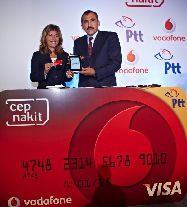 Vodafone ve PTT, Cep Nakit Kart hizmetini başlatıyor
