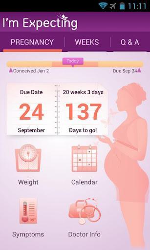 I'm Expecting uygulaması ile hamileliğinizi adım adım takip edin