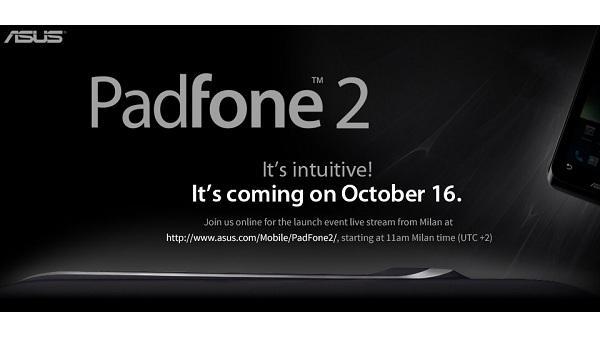 ASUS, Milan'daki PadFone 2 tanıtımını canlı yayınlayacak