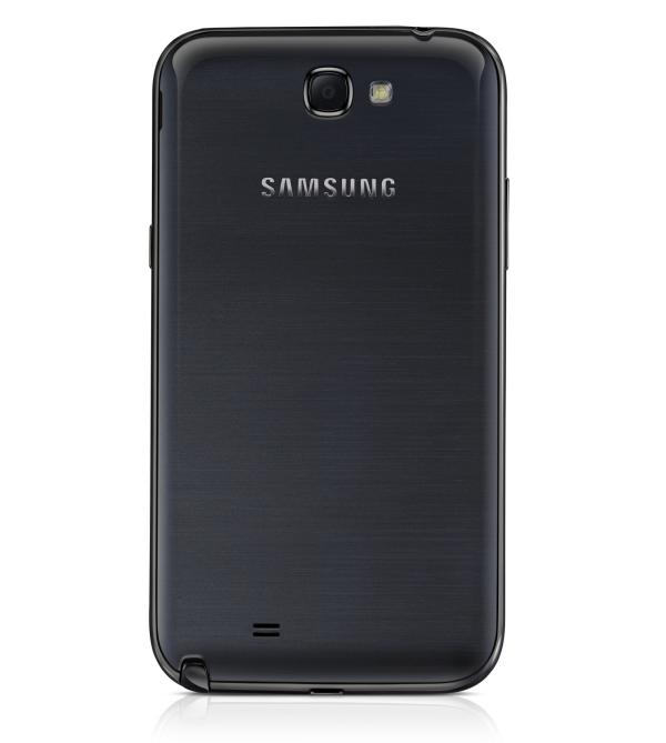 Siyah renkli Samsung Galaxy Note II ortaya çıktı