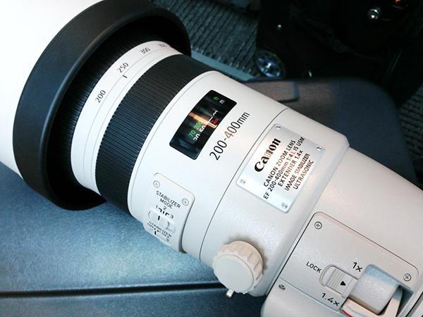Canon EF 200-400mm F4 L USM 1.4X Extender lens yakında geliyor