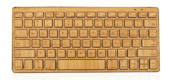 Impecca, Bluetooth destekli bambu klavyesini duyurdu