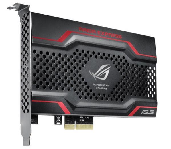 Asus, SSD sürücü pazarına giriyor; İlk model ROG serisinden PCIe tabanlı