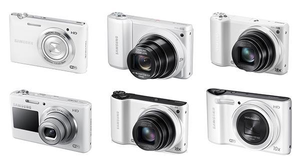 Samsung'tan altı yeni fotoğraf makinesi