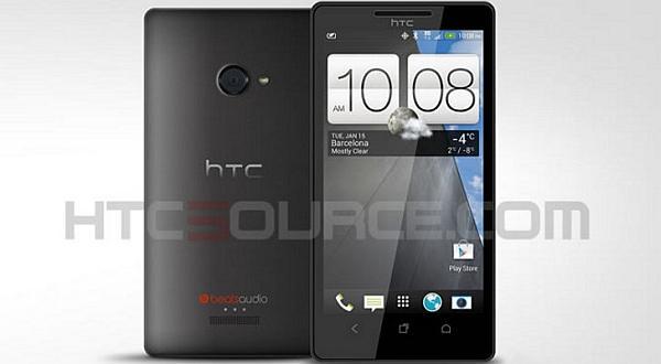 HTC'nin üst seviye telefonu M7'ye ait yeni bir görsel ortaya çıktı