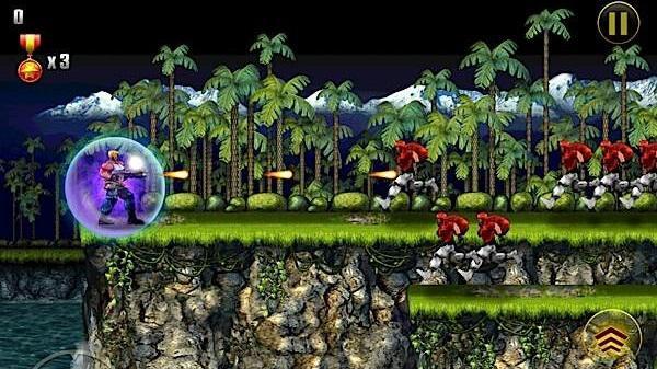 Konami, Contra Evolution'u mobil platform için yayınladı