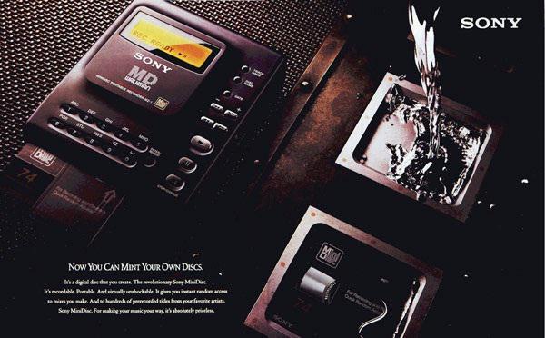 Sony, son MiniDisc'lerin sevkiyatını önümüzdeki ay gerçekleştirecek