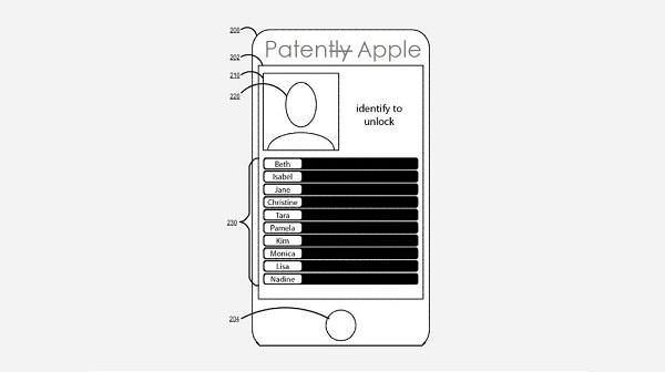 Apple, görüntü tabanlı kimlik doğrulama sistemi için patent başvurusunda bulundu