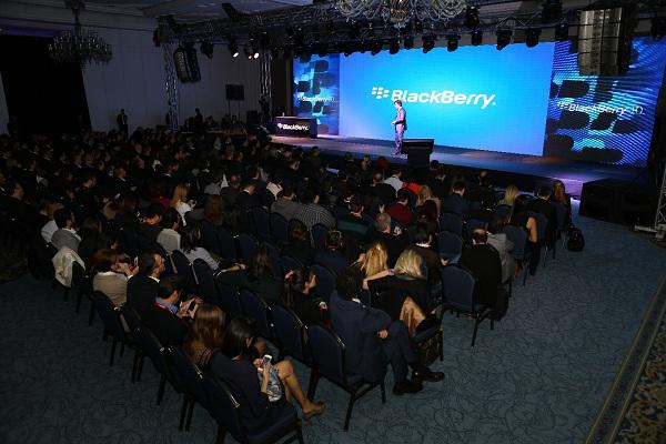 BlackBerry Z10'un Türkiye lansmanı gerçekleşti