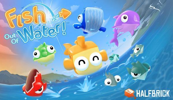 Halfbrick, yeni oyunu Fish Out Of Water'ın detaylarını paylaştı
