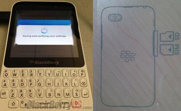BlackBerry'nin giriş seviyesi BlackBerry 10 cihazına ait olduğu iddia edilen görüntüler yayınlandı