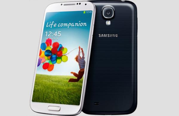 Samsung Galaxy S4 'paramparça' edildi