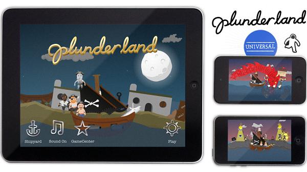 Plunderland, Appstore'da kısa bir süreliğine ücretsiz olarak yayında