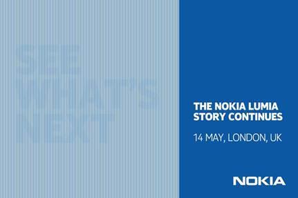 Nokia, yeni Lumia cihazlarını 14 Mayıs tarihli Londra etkinliğinde duyuracak