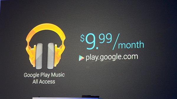 Google, yeni müzik servisi Google Play Musıc All Access'i duyurdu
