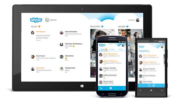 Skype'ın Android versiyonu yeni bir arayüzle güncellendi