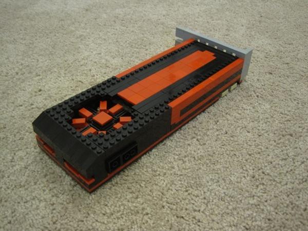 LEGO parçalarını kullanarak AMD Radeon HD 7970 ekran kartı yaptı