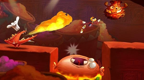 Ubisoft, Rayman'in yeni koşu oyunu Rayman Fiesta Run'ı mobil cihazlar için duyurdu
