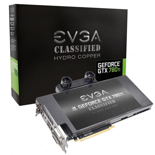 EVGA su soğutmalı GeForce GTX 780 Ti Classfied ekran kartını hazırlıyor