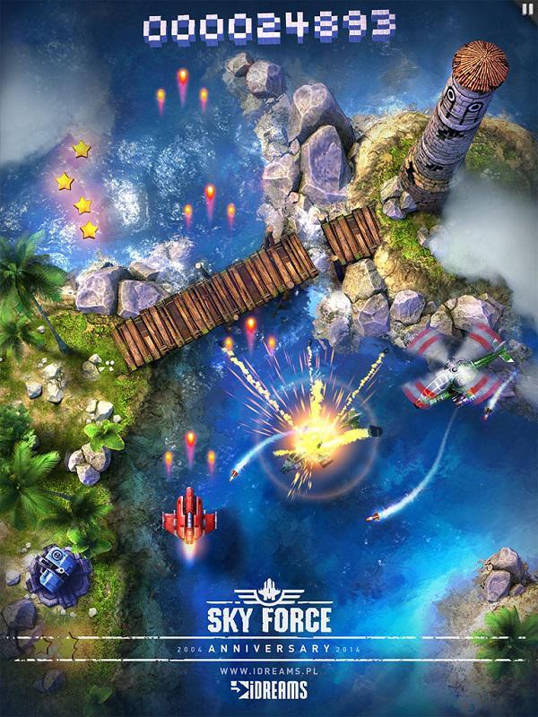 Sky Force, 10. yılı şerefine iOS platformu için yayınlanacak
