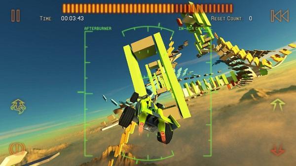 Jet Car Stunts 2, iOS platformu için yayımlandı