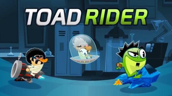 Toad Rider, Appstore'daki yerini aldı