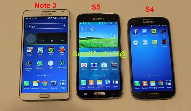 Samsung Galaxy S5 ortaya çıktı: 16MP kamera, parmakizi okuyucusu, su geçirmez kasa