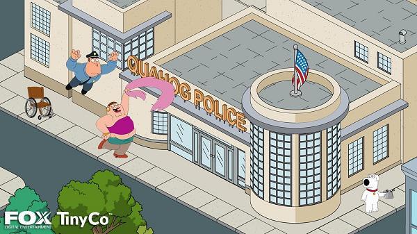 Family Guy'ın mobil oyununa ait ilk ekran görüntüleri yayımlandı