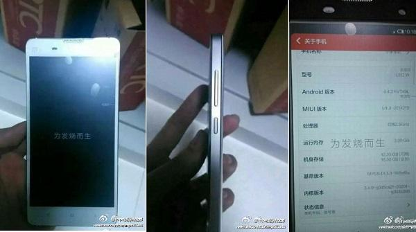 Xiaomi'nin, Mi3'ün yerini alacak yeni modeli Mi3S'e ait ilk görseller internete düştü