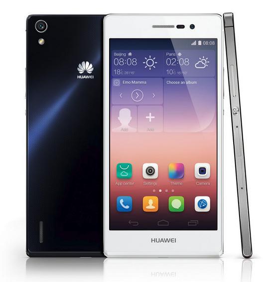 Huawei Ascend P7 duyuruldu