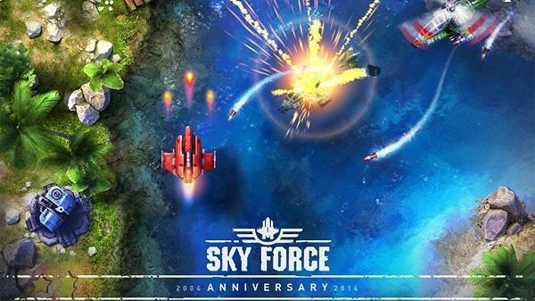 Sky Force 2014 artık evrensel içerik
