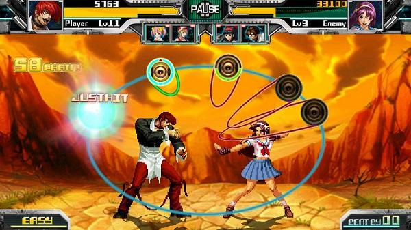 Mobil cihazlar için ritim tabanlı bir The King of Fighters oyunu geliyor