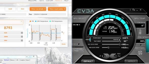EVGA'nın özel tasarımlı GeForce GTX 780 Ti ekran kartı 2GHz'de çalıştırıldı