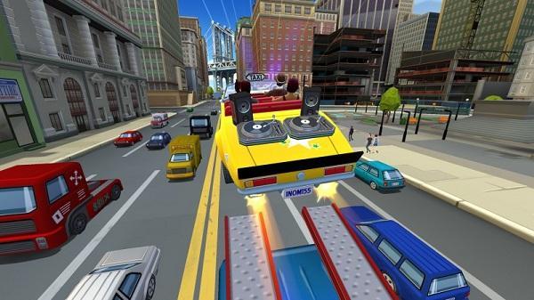 Crazy Taxi: City Rush, Google Play'deki yerini aldı