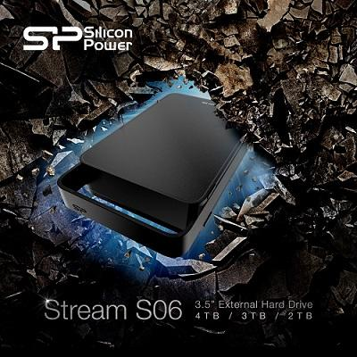 SP/ Silicon Power 4TB 3.5-inch USB 3.0 Taşınabilir HDD Sürücüsü