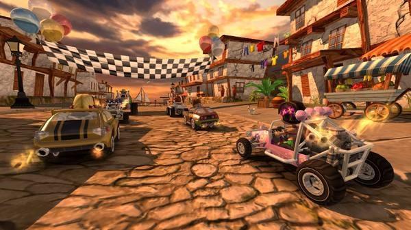 Beach Buggy Racing, iOS ve Android kullanıcılarının beğenisine sunuldu