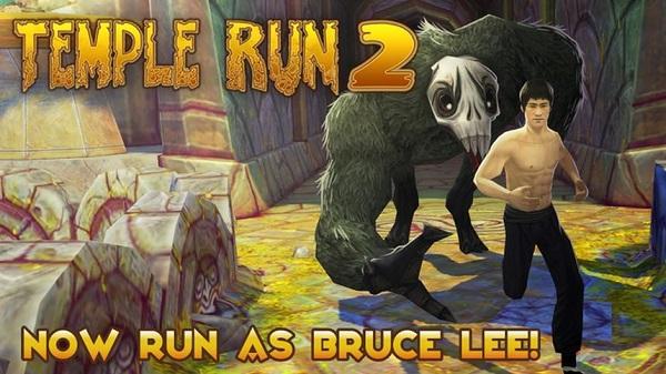 Bruce Lee, Sevgililer Günü güncellemesiyle Temple Run 2'nin karakter listesine eklendi