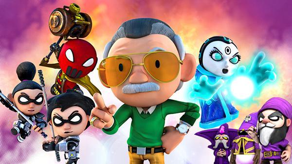 Stan Lee's Hero Command önümüzdeki ay mobil oyuncularla buluşacak