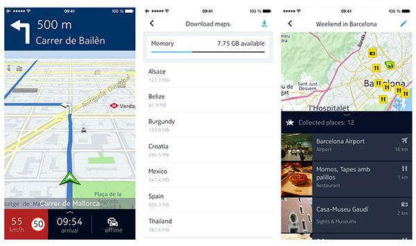 Nokia HERE Maps iOS için kullanıma sunuldu