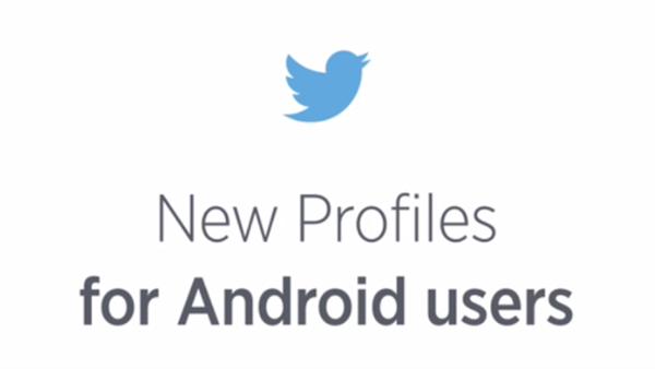 Twitter Android uygulamasında kişi profilleri görünümü yenilendi