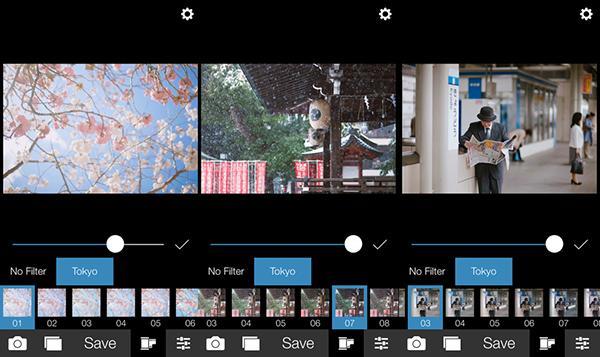 iOS özel fotoğraf filtre uygulaması Analog Tokyo artık ücretsiz