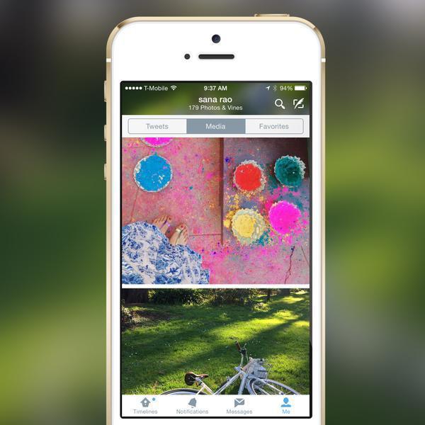 Twitter'ın iOS uygulaması artık profillerde daha büyük fotoğraflar gösteriyor