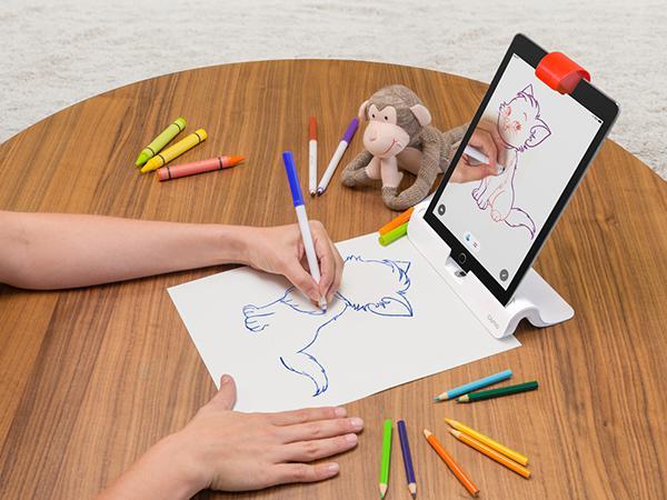 Çocuklar için iPad temelinde geliştirilen Osmo, oyun yanında artık çizim de sunuyor